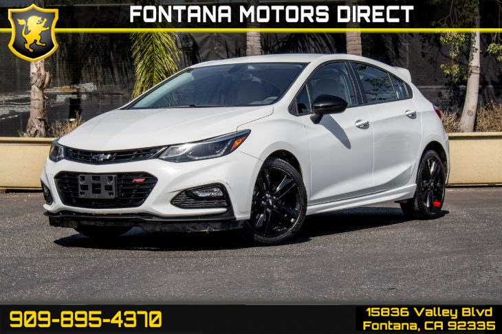 2018 Chevrolet Cruze (RS Package & REDLINE EDITION)