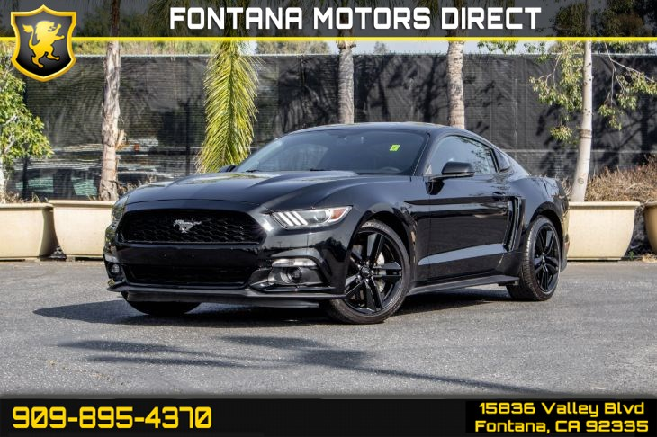 2016 Ford Mustang (ECOBOOST PERFORMANCE PACKAGE)