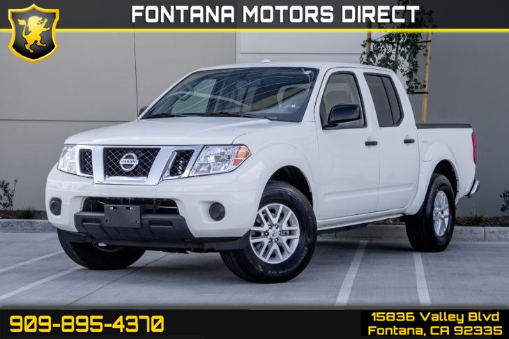 2018 Nissan Frontier SV V6 (BED LINER/TRAILER HITCH PACKAGE)
