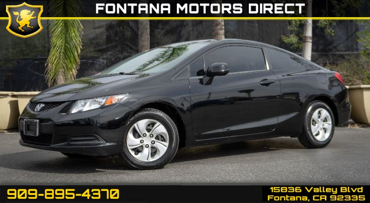 2013 Honda Civic Cpe LX (Bluetooth & Backup Camera)