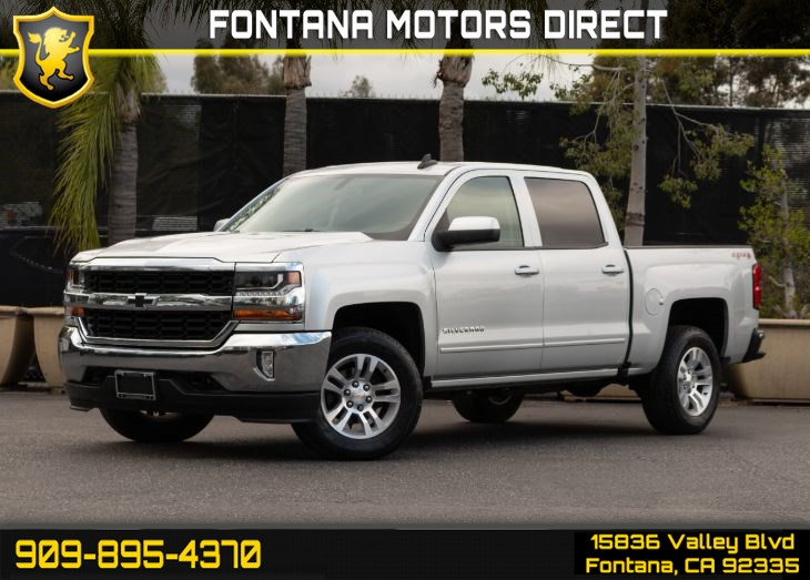 2017 Chevrolet Silverado 1500 LT (All Star Edition & LT Plus Package)