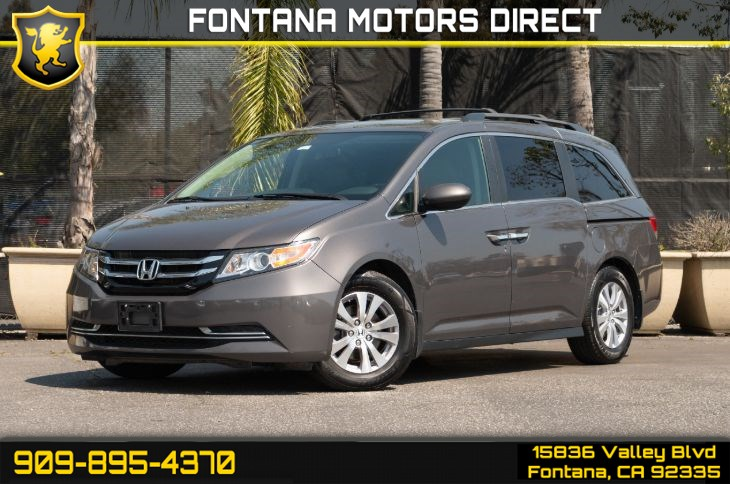 2016 Honda Odyssey EX-L (Back-up Camera & Sunroof)