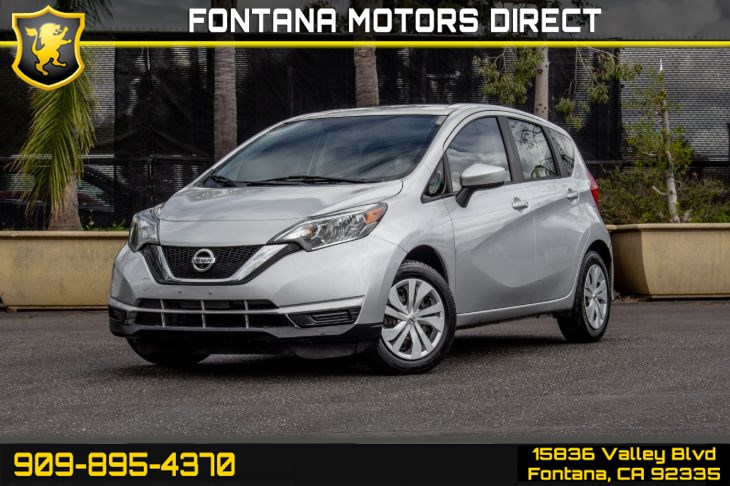 2017 Nissan Versa Note SV (Back-Up Camera &Bluetooth Connection)
