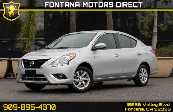 2018 Nissan Versa Sedan SV (SV Special Edition & Back-up Camera)