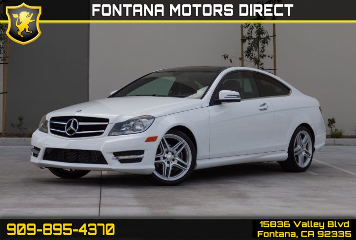 2015 Mercedes-Benz C 250 Coupe (Multimedia Package & Dual Moonroof)