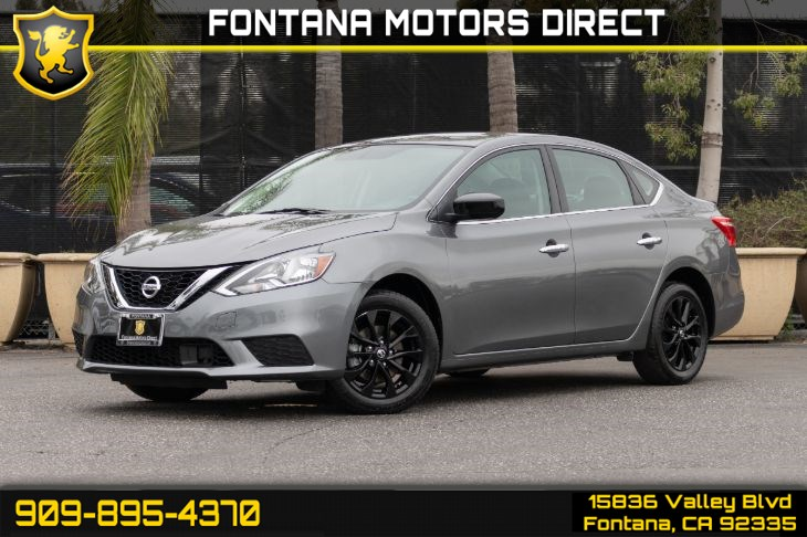 2018 Nissan Sentra S Midnight Package (Back-up Camera)