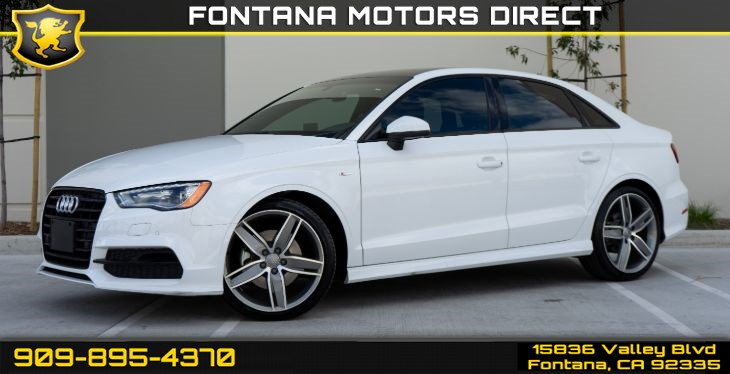 2016 Audi A3 1.8T Premium (Style Package & Sunroof)