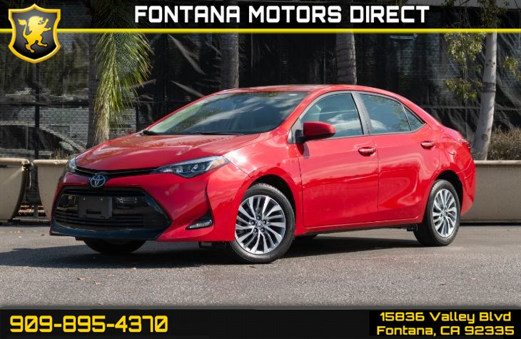 2017 Toyota Corolla XLE (XLE Package & Back-up Camera)