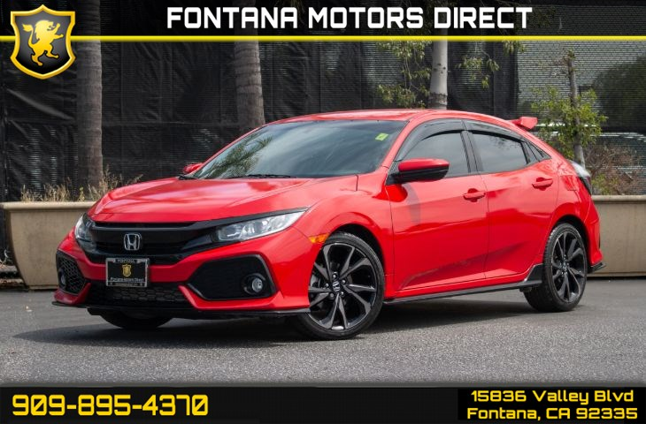 2017 Honda Civic Hatchback Sport (Back-up Camera & Bluetooth Connection)
