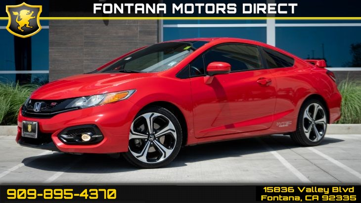 2015 Honda Civic Coupe Si (Sunroof & Backup Camera)