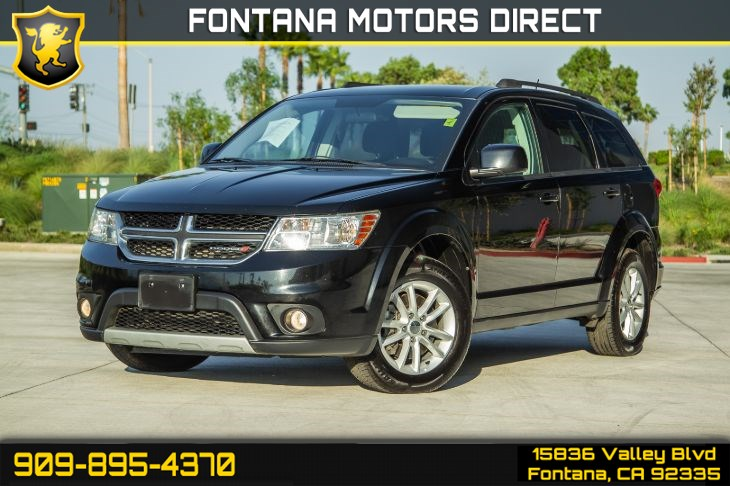 2015 Dodge Journey SXT (Roof Racks & V6 Engine)