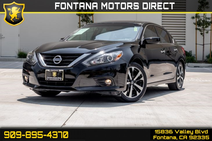 2018 Nissan Altima 2.5 SR (Back-Up Camera & Bluetooth Connection)