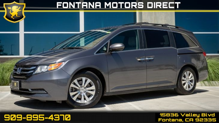 2017 Honda Odyssey SE (Bluetooth & Backup Camera)
