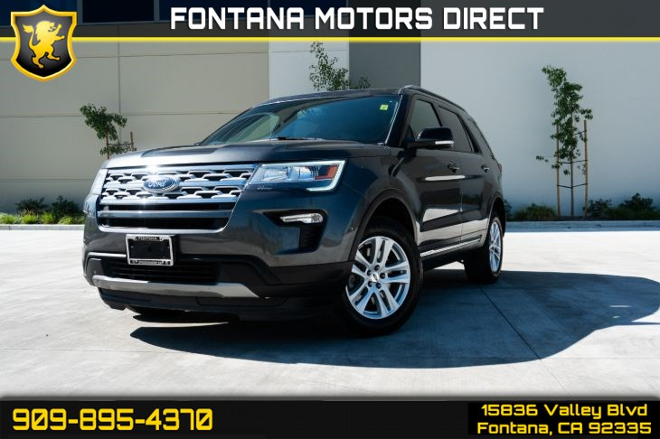2018 Ford Explorer XLT (Backup-Camera & Bluetooth)