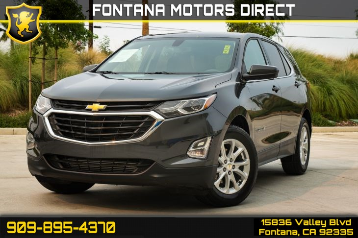2018 Chevrolet Equinox LT(DEEP TINTED GLASS & TURBOCHARGED)