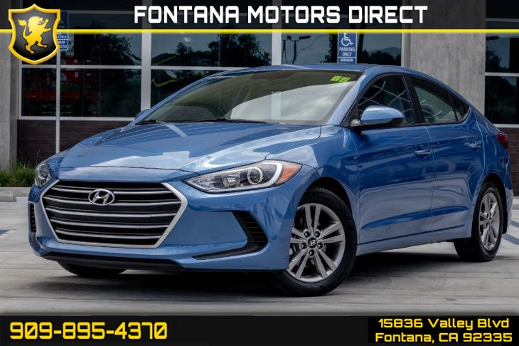 2017 Hyundai Elantra SE (Back-Up Camera & Bluetooth Connection)