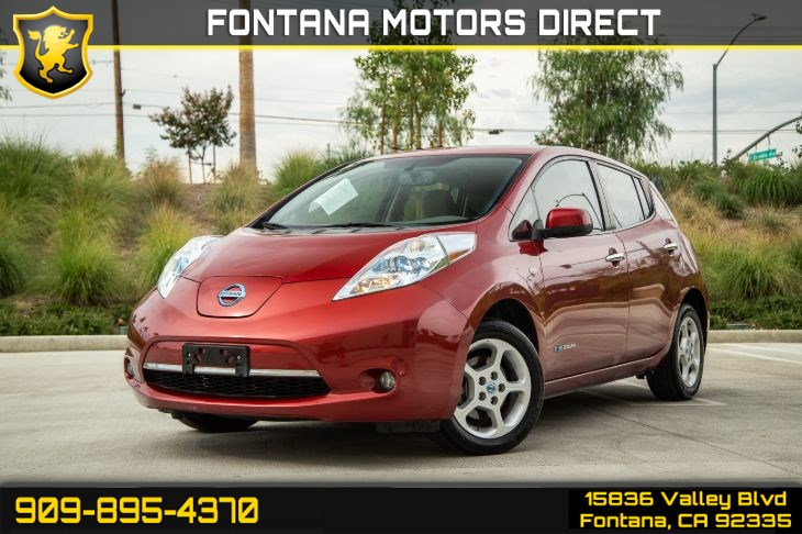 2012 Nissan LEAF SL (BACKUP CAMERA & HEATED FRONT/REAR SEATS)