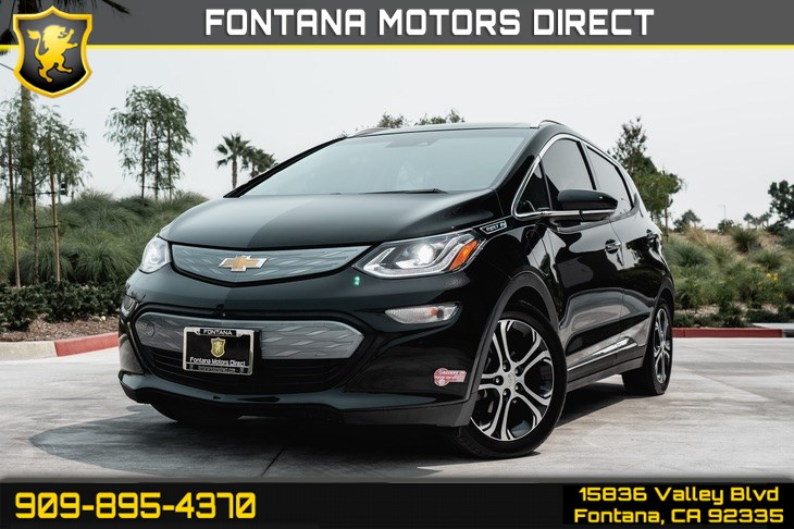 2017 Chevrolet Bolt EV Premier(TINTED GLASS & ELECTRIC ENGINE)