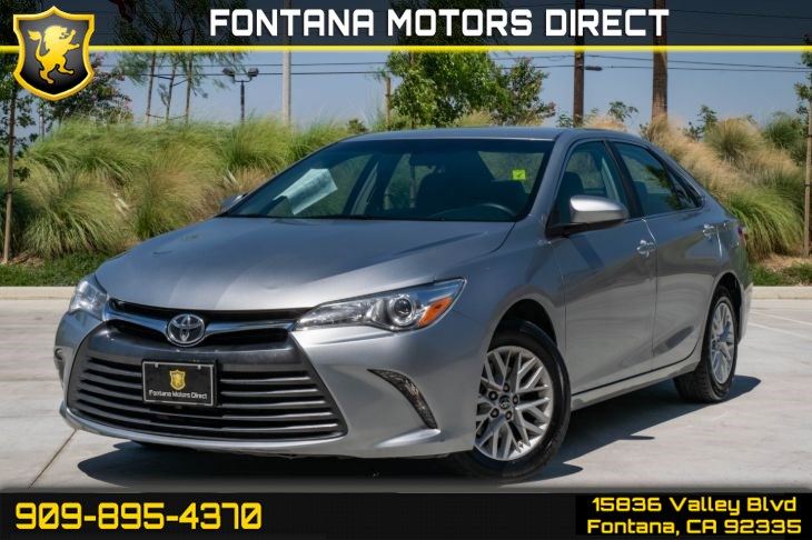 2016 Toyota Camry LE (Back-Up Camera & MP3 Player)