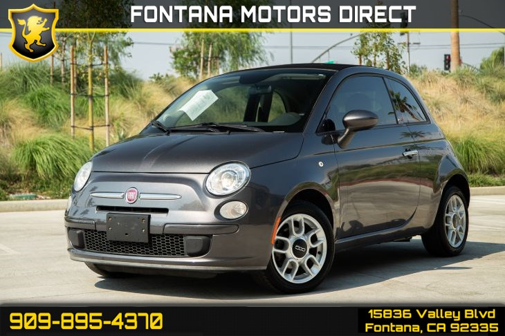 2015 FIAT 500c Pop (SOFT TOP & PREMIUM CLOTH SEATS)