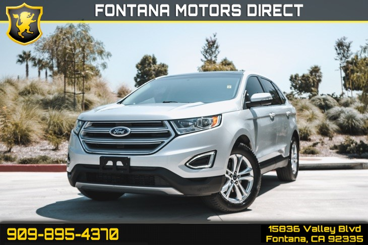 2017 Ford Edge SEL(BLUETOOTH & SUNROOF)