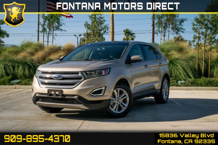 2017 Ford Edge SEL (Cargo Accessory Package & Sunroof)