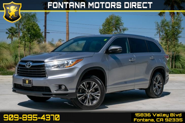 2016 Toyota Highlander XLE ( BLUETOOTH & DEEP TINTED GLASS )