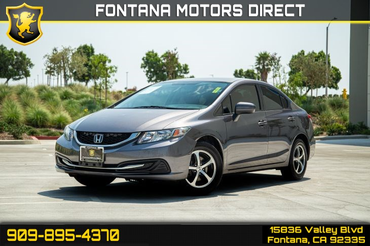 2015 Honda Civic Sedan SE (BLUETOOTH, SIDE & BACKUP CAMERA)