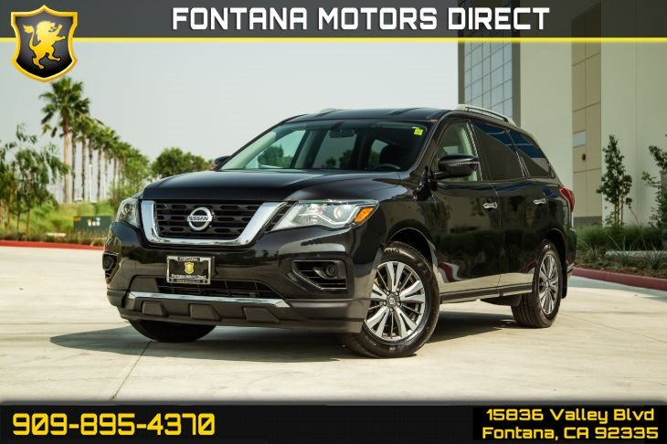 2017 Nissan Pathfinder S ( BLUETOOTH & DEEP TINTED GLASS )