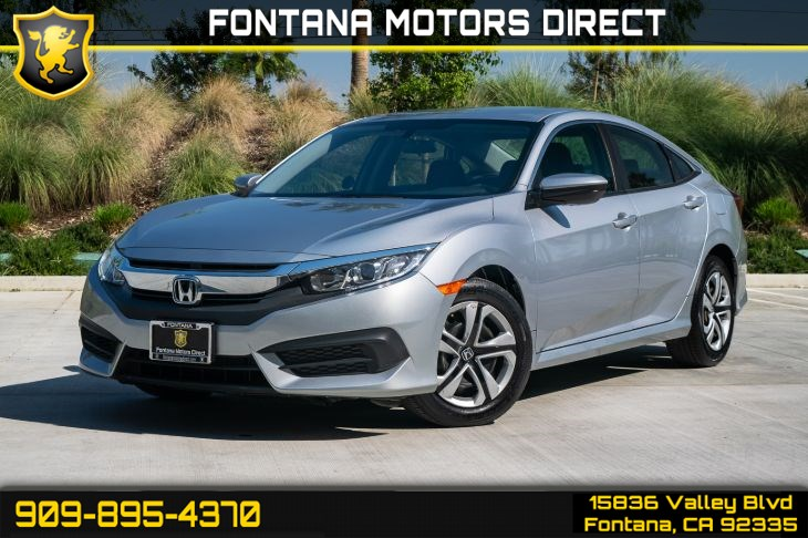 2017 Honda Civic Sedan LX (LIGHT TINTED GLASS & BLUETOOTH )