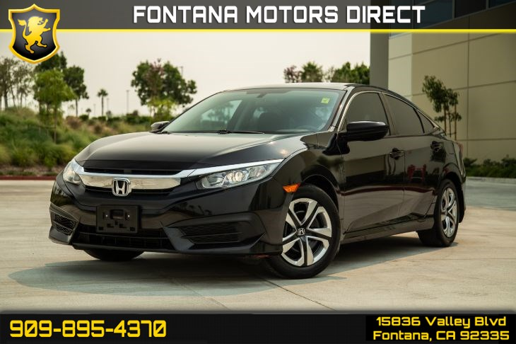 2016 Honda Civic Sedan EX (Sunroof & Bluetooth)
