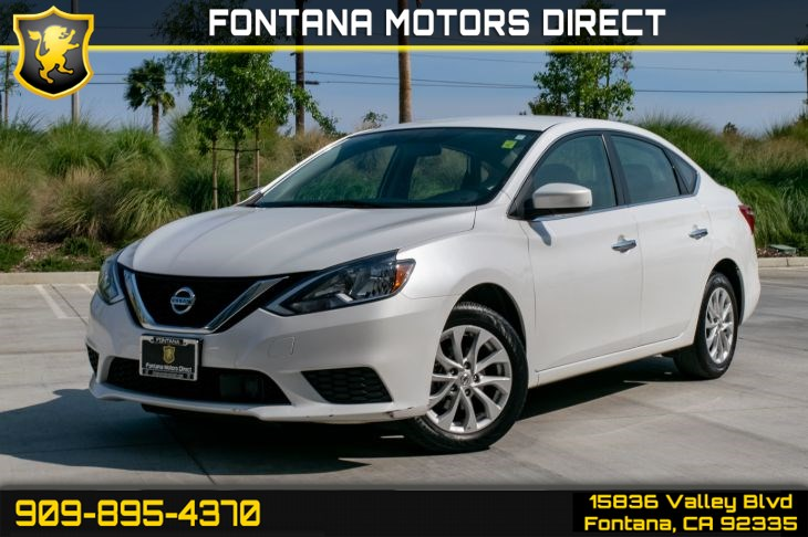 2018 Nissan Sentra SV (Back-Up Camera & Cruise Control)