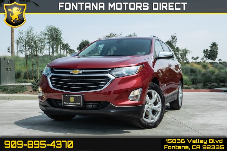 2018 Chevrolet Equinox Premier (Backup Camera & Cruise Control)