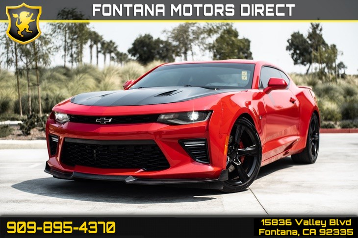 2016 Chevrolet Camaro 2SS (HEATED SEATS & BACKUP CAMERA)