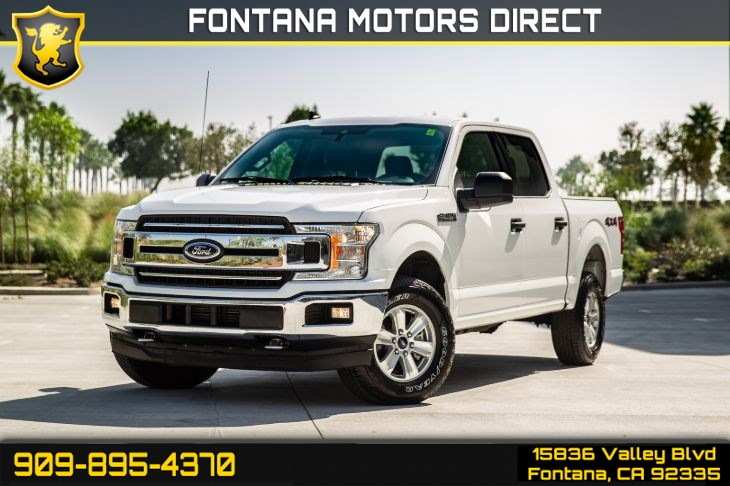 2020 Ford F-150 (Back-up Camera & Cruise Control)