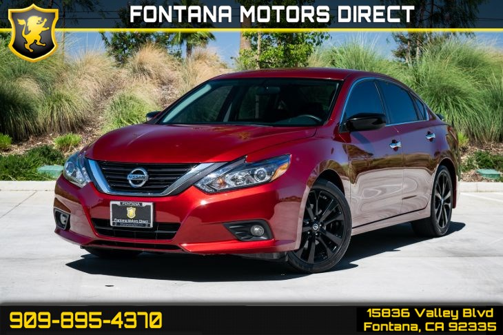 2017 Nissan Altima 2.5 SR (Back-up Camera & Cruise Control)
