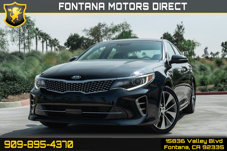 2016 Kia Optima SX Turbo (Turbocharged & Back-up)