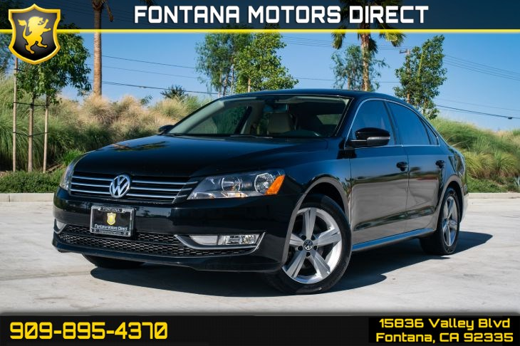 2015 Volkswagen Passat 1.8T Limited Edition (Turbocharged & Bluetooth)