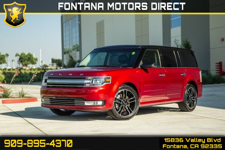 2013 Ford Flex Limited (BLUETOOTH & BACK UP CAMERA)