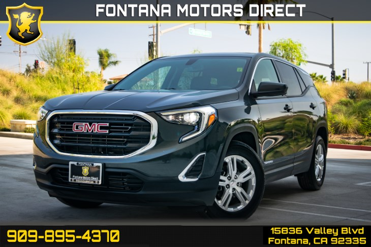 2018 GMC Terrain SLE (Back up Camera & Cruise Control)