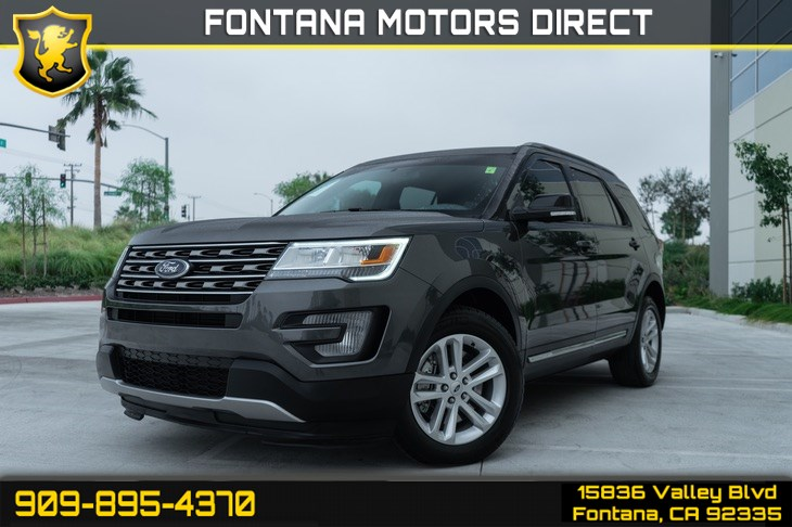 2017 Ford Explorer XLT (BLUETOOTH & BACK UP CAMERA)