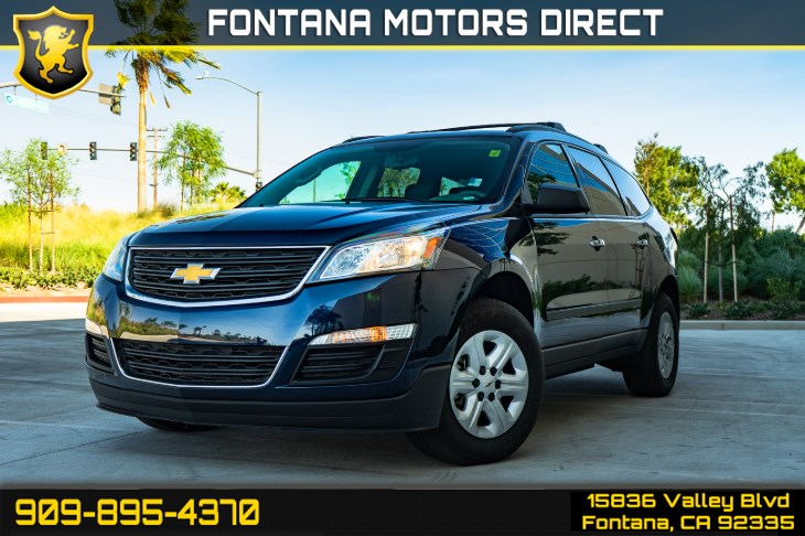 2017 Chevrolet Traverse LS (Back-up Camera & Cruise Control)