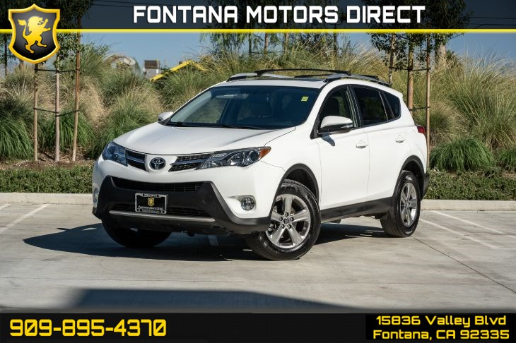 2015 Toyota RAV4 XLE (Back-Up Camera & Cruise Control)