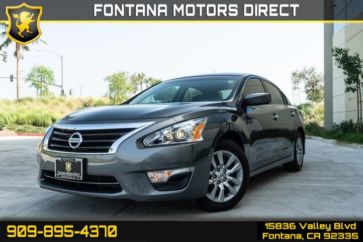 2015 Nissan Altima 2.5 S (Cruise Control & Bluetooth)