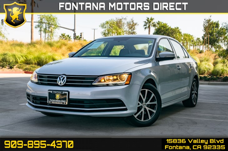 2017 Volkswagen Jetta 1.4T SE (Back-Up Camera & Cruise Control)