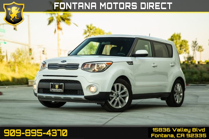 2017 Kia Soul + (PREMIUM CLOTH SEATS & BLUETOOTH)