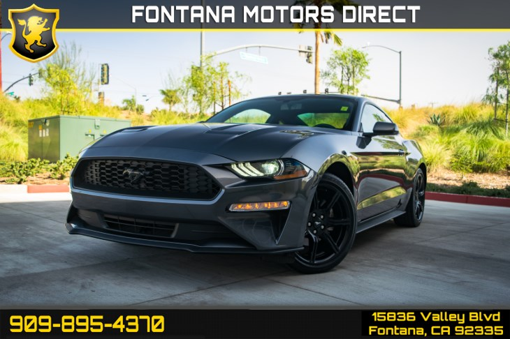 "2018 Ford Mustang EcoBoost (Black Accent PKG, 19"" Wheels)"