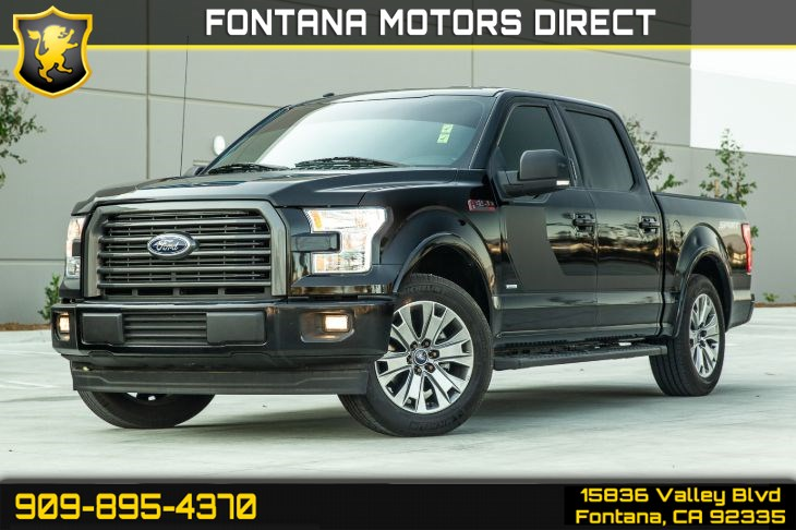 2017 Ford F-150 XLT (Sport & Special Edition PKGs $11K in Options)