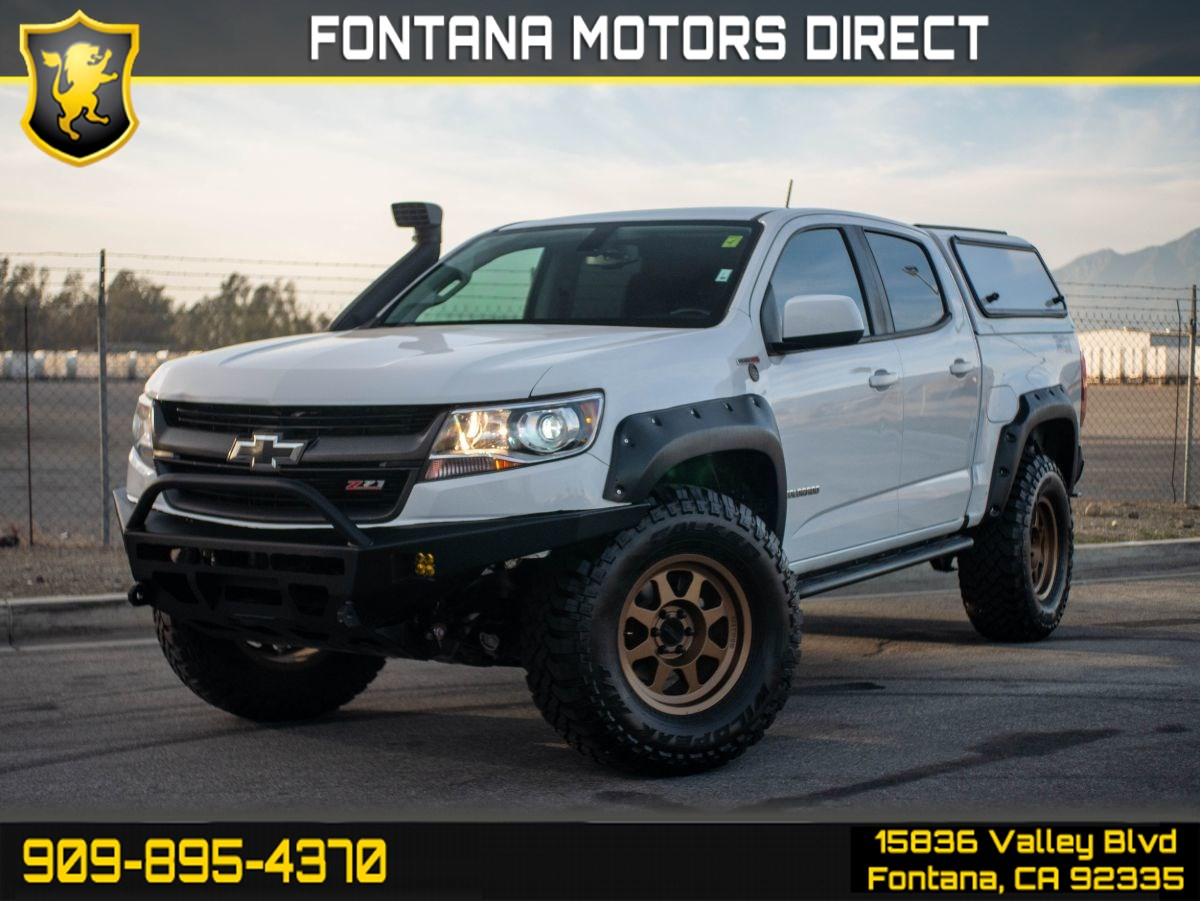 2017 Chevrolet Colorado 4WD Z71 (BACK UP CAMERA & LIFT KIT)