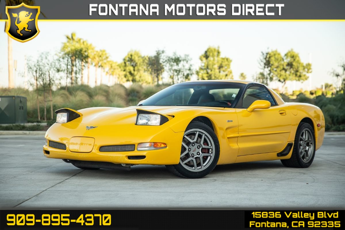 2003 Chevrolet Corvette Z06 (HEADS UP DISPLAY & V8 ENGINE)